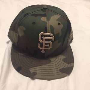 SF Giants camo new era fitted